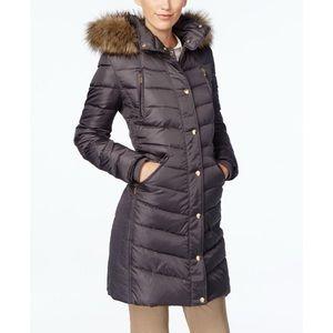 MICHAEL Michael Kors • Hooded Faux Fur Puffer
